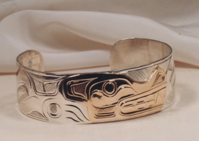 0233 Native Gold & Silver Bracelet