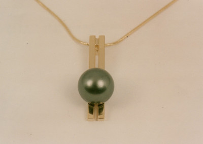 0062 Pendant w South Sea Pearl match w 0151