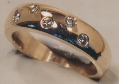 0082 Diamond Wedding Ring