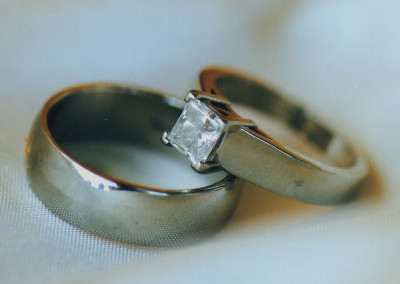 0093 His & Hers Diamond Wedding Bands