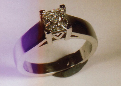0103 Diamond Engagement Ring
