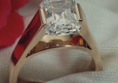 0122 Diamond Engagement Ring 2