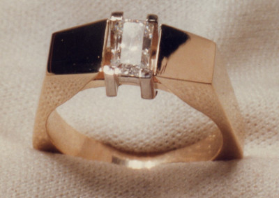 0161 Diamond Engagement Ring 3