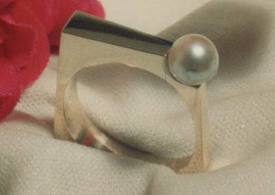 0163 Pearl Ring
