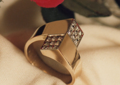0221 Pave Diamond Ring