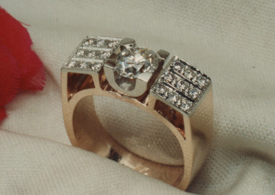 0243 Ladies Diamond Ring