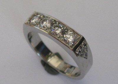 4105 Diamond Engagement Ring